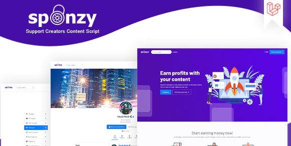 Sponzy v1.5-支持创作者内容脚本