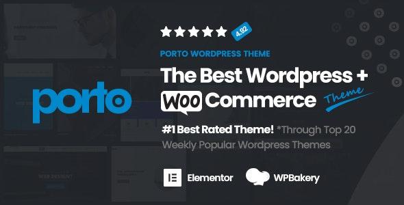 波爾圖 v6.1.4 | 多用途和 WooCommerce 主題