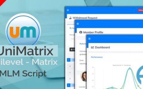 UniMatrix成员资格– MLM脚本v1.2.2已空