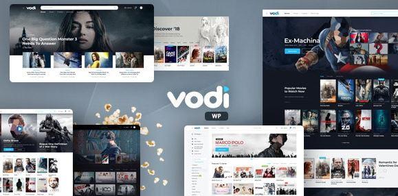 Vodi v1.2.4-影视节目的视频WordPress主题