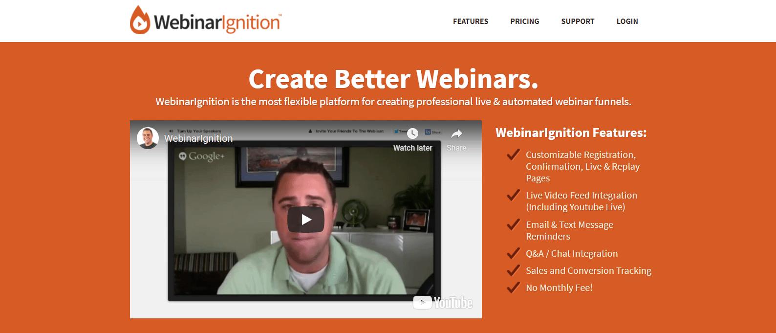 WebinarIgnition是一个高级WordPress网络研讨会插件