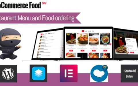 WooCommerce Food v2.3 –餐厅菜单和食物订购