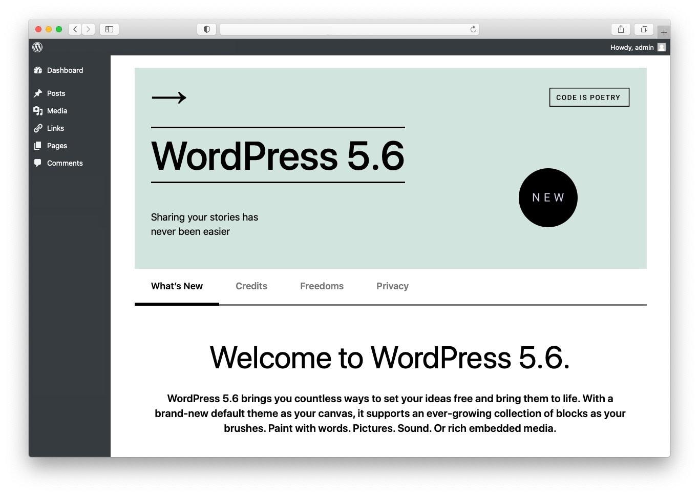 2021年1月WordPress新闻:WordPress 5.6