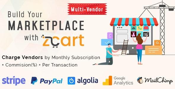zCart多供应商电子商务市场v2.2.0