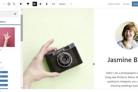Automattic推出空白画布WordPress主题,用于构建单页网站