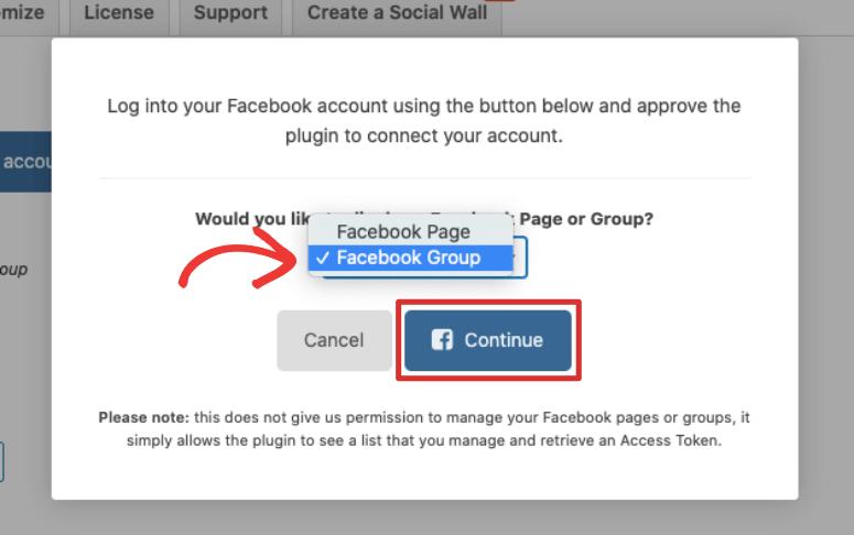 Facebook群组粉碎气球