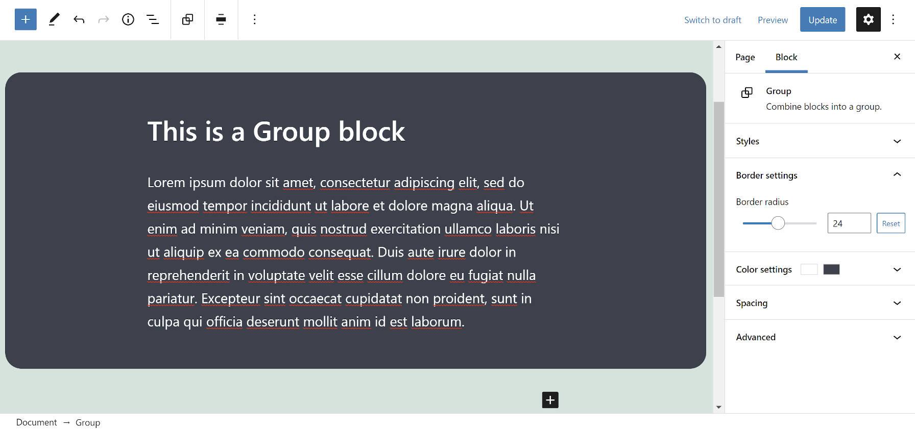 "gutenberg-9-8将圆角边框带到组块中,然后将现场编辑器画布移动到嵌入式框架2中Gutenberg 9.8将圆角边框带到组块中并将""站点编辑器""画布移动到嵌入式框架中"