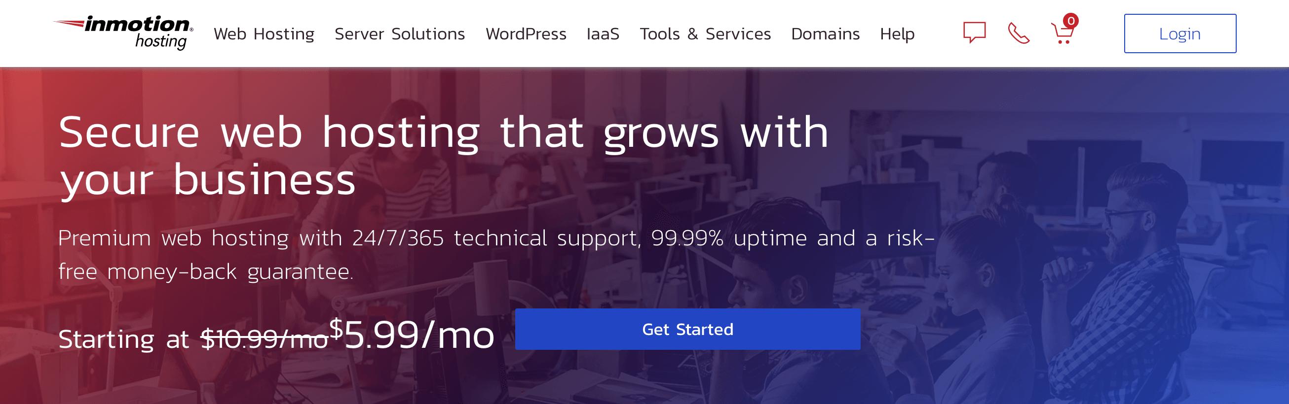 Inmotion托管可以完成业务的预算Wordpress Web主机InMotion托管:可以进行业务的预算WordPress Web主机