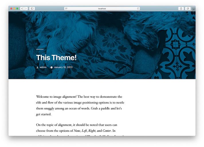 new-WordPress-site-installed-on-XAMPP