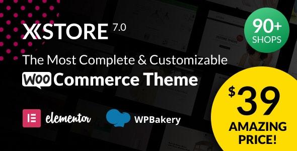 XStore v8.0 | 响应式多用途 WooCommerce WordPress 主题