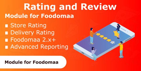 Foodomaa v1.0.1评分和审查模块