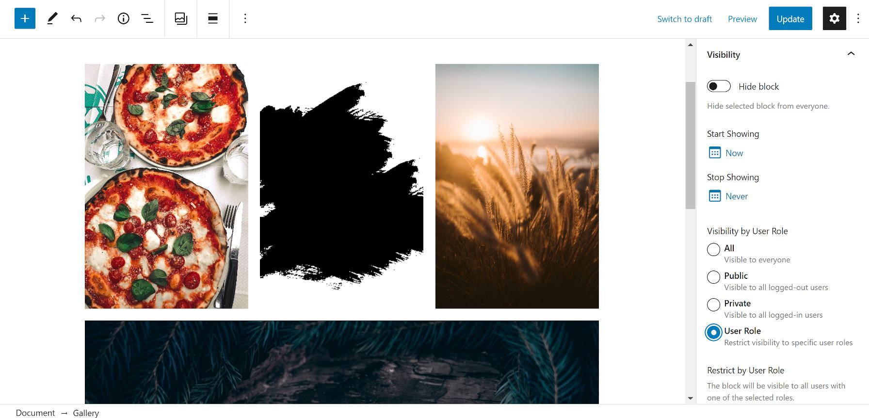 通过块可见性wordpress插件显示和隐藏内容通过块可见性WordPress插件显示和隐藏内容