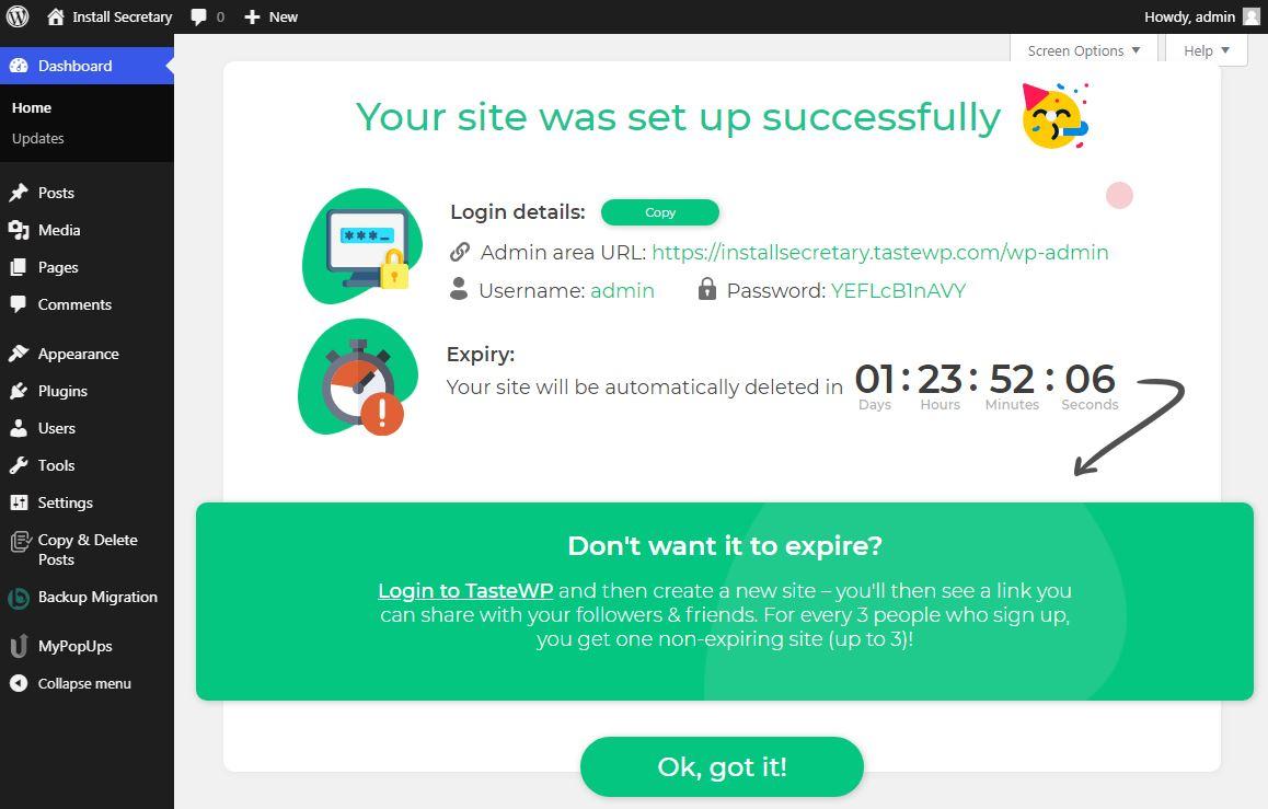 astewp-spins-up-free-wordpress-testing-sites-in-seconds-1 TasteWP以秒为单位旋转免费WordPress测试站点