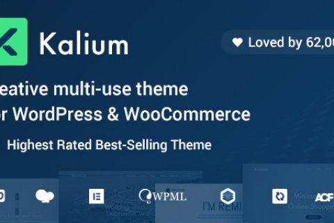 Kalium v3.2 –专业人士的创意主题