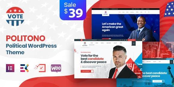Politono-政治选举活动WordPress主题v1.9