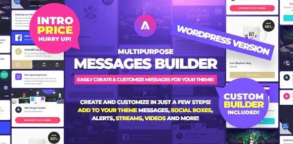 Asgard-多用途消息和Social Builder插件v1.1.5