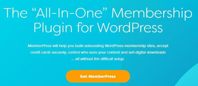 MemberPress-WordPress v1.9.9 +插件的多合一成员资格插件