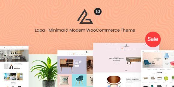 Lapa-最小和现代WooCommerce主题v1.1.3