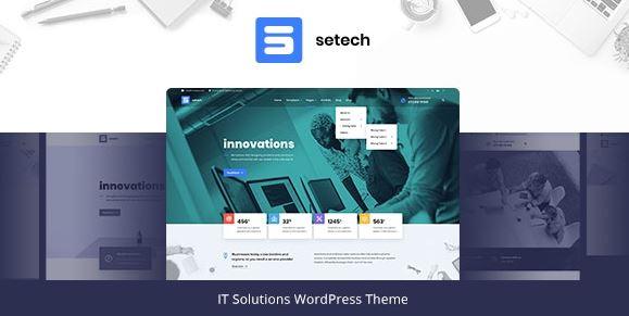 Setech-IT服务和解决方案WordPress主题