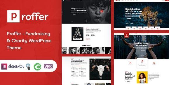 Proffer-筹款与慈善WordPress主题