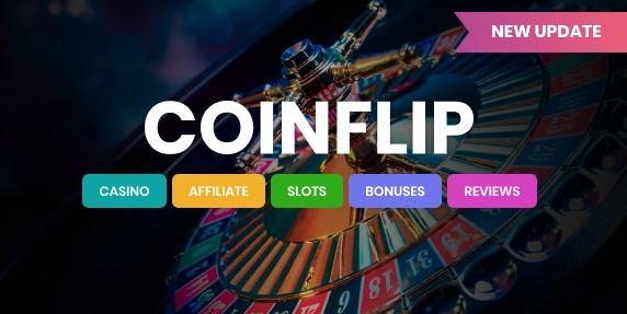 Coinflip-赌场会员和赌博WordPress主题