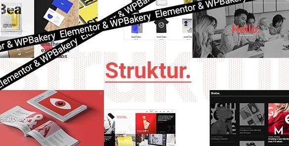 Struktur-创意机构WordPress主题