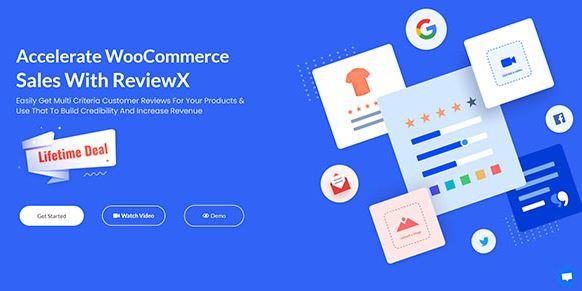 ReviewX Pro-通过ReviewX加速WooCommerce销售