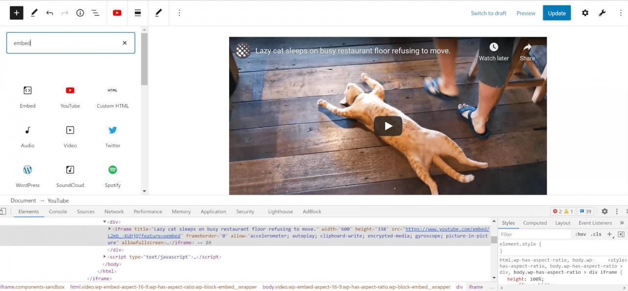 iframes的本机懒加载支持即将到WordPress 5-7 iframe的本机懒加载支持即将到WordPress 5.7
