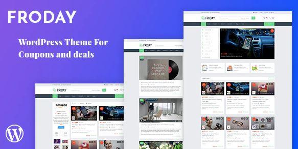 Froday –优惠券和交易WordPress主题