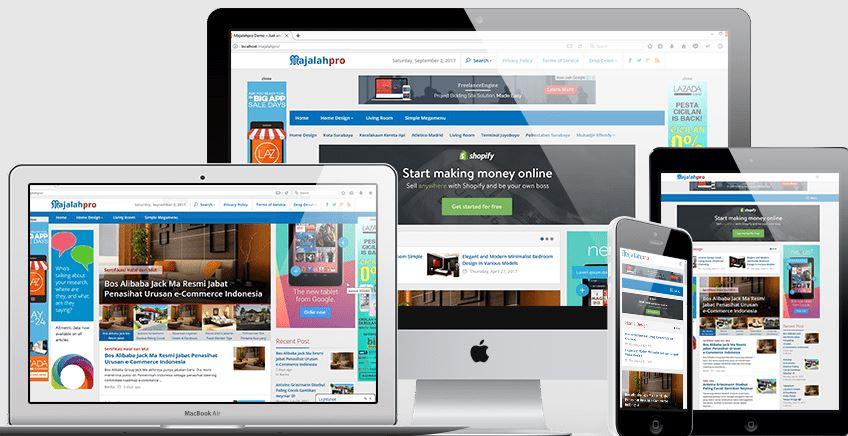 Majalahpro新闻门户WordPress主题