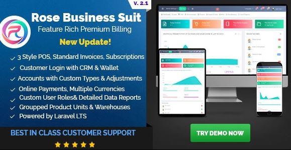 Rose Business Suite-会计,CRM和POS软件