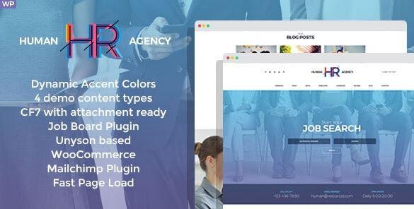 HR Human Consult-搜索和招聘WordPress主题