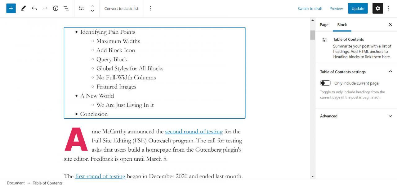 Gutenberg WordPress插件介绍目录块1 Gutenberg WordPress插件介绍目录块