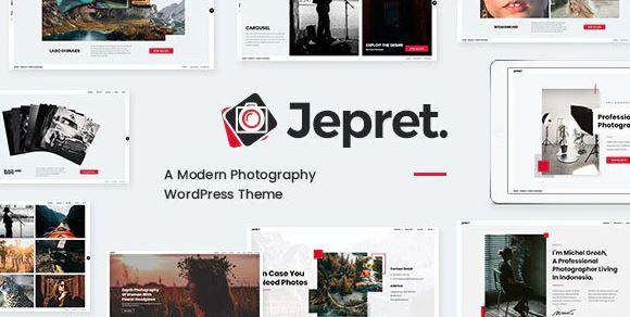 Jepret-现代摄影WordPress主题