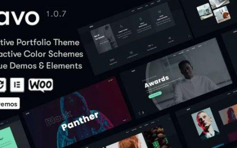 Avo v1.0.7 –广告创意和代理WordPress主题