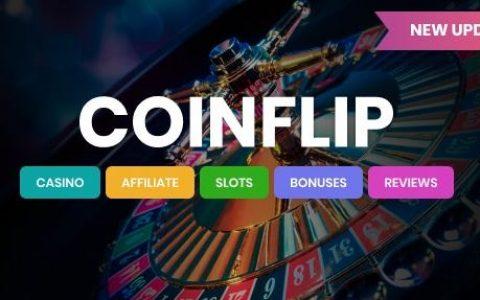 Coinflip v1.6 –赌场会员和赌博WordPress主题