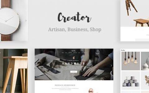 Creator v1.9 –手工工匠的主题