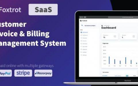 Foxtrot(SaaS)v1.0.2 –客户,发票和费用管理系统