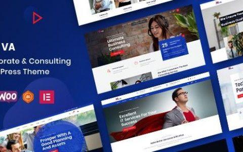 Miva v1.0.2 –商业咨询WordPress主题