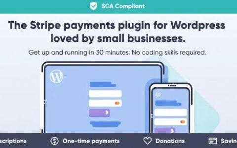 WP Full Stripe – WordPress v5.4.0的订阅和付款插件