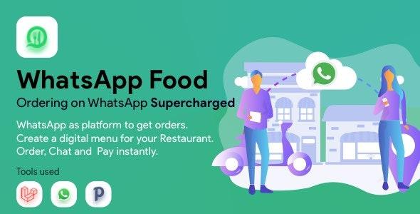 WhatsApp食品– SaaS WhatsApp订购