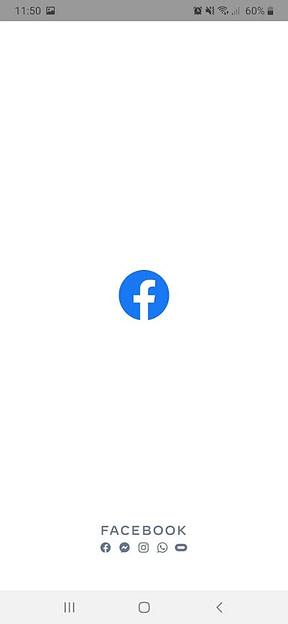 Facebook启动画面