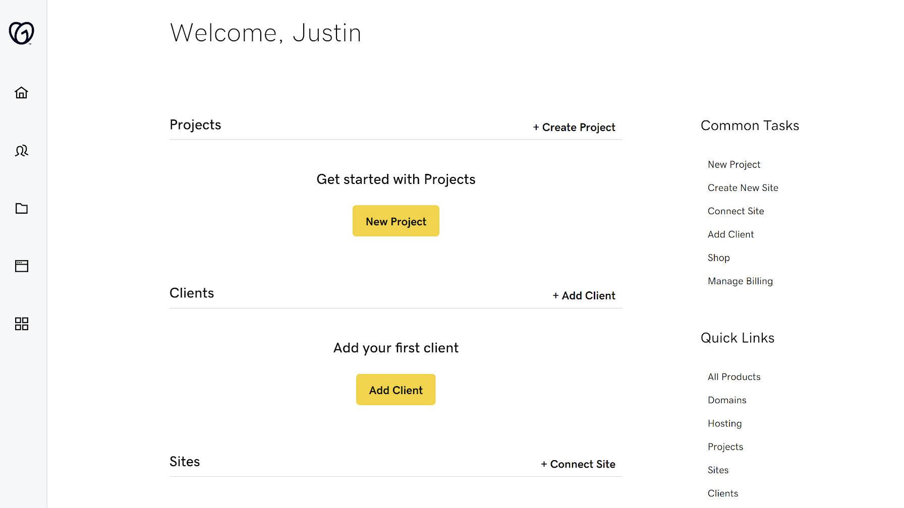 godaddy推出了一个新站点项目和客户端管理经验的网站专业人员1 GoDaddy推出了针对Web专业人员的中心,新站点,项目和客户端管理体验