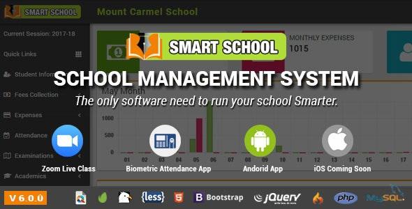 Smart School v6.2.0:学校管理系统