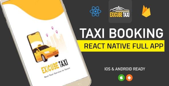 Exicube Taxi App v1.0.0(GrabCab)+ iOS + Android + Web +管理员