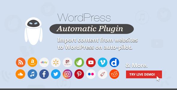 WordPress自动插件免费下载