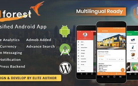 AdForest分类本机Android应用v3.5.0