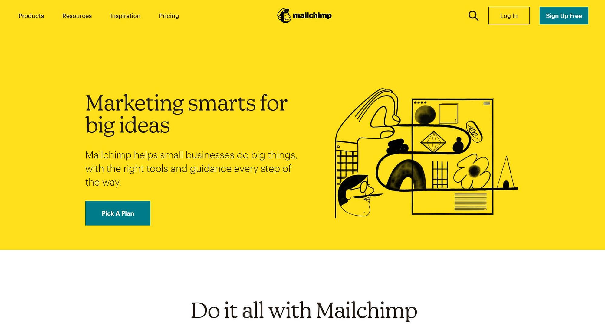MailChimp电子邮件营销套件。