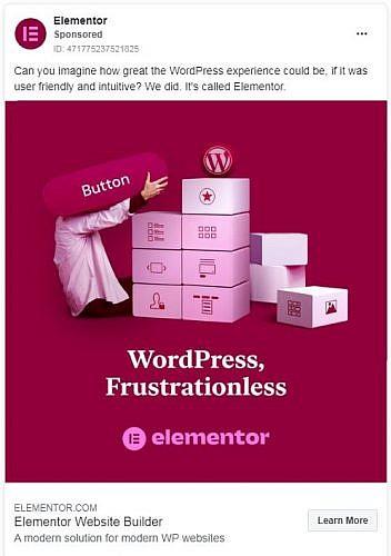 Elementor通过Google广告定位全站编辑来提高眉毛Elementor通过Google Ads定位全站编辑来提高眉毛