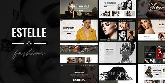 Estelle-时装与模特经纪公司主题